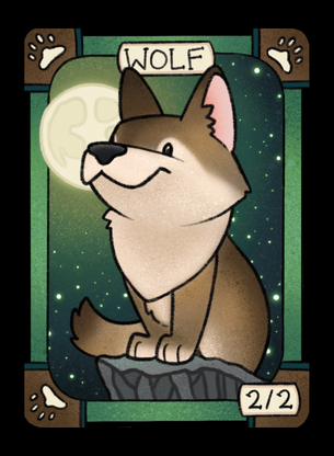 Wolf for MTG (LAN)