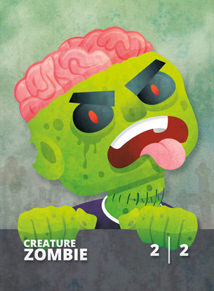 Zombie token for MTG (CMJ)