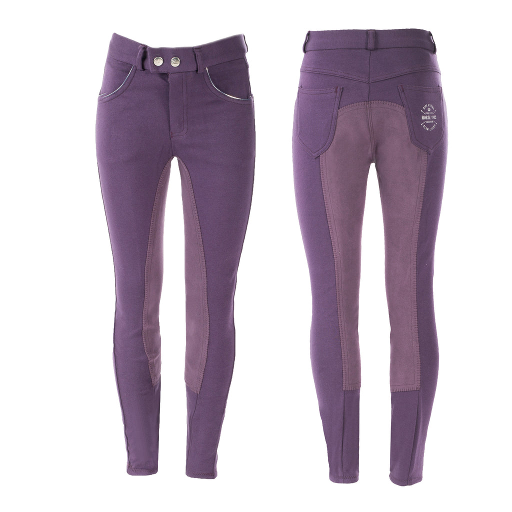 HorZe Jen Children's Knee Patch Breeches