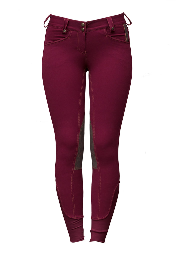 Horsware Ireland Adalie Winter Fleece Knee Patch Breeches