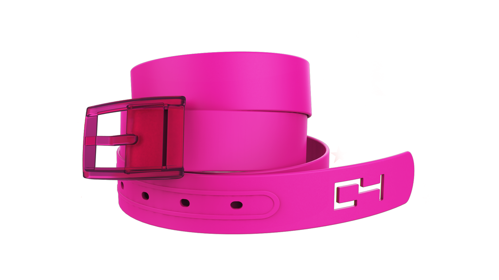 C4 Pink Classic Belt & Pink Classic Buckle