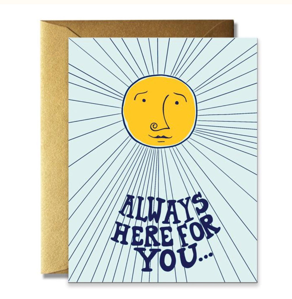 Rainbow Vision Always Here For You Card