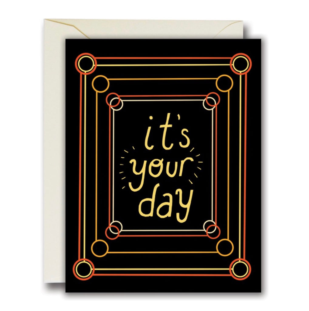 Rainbow Vision It's Your Day Card