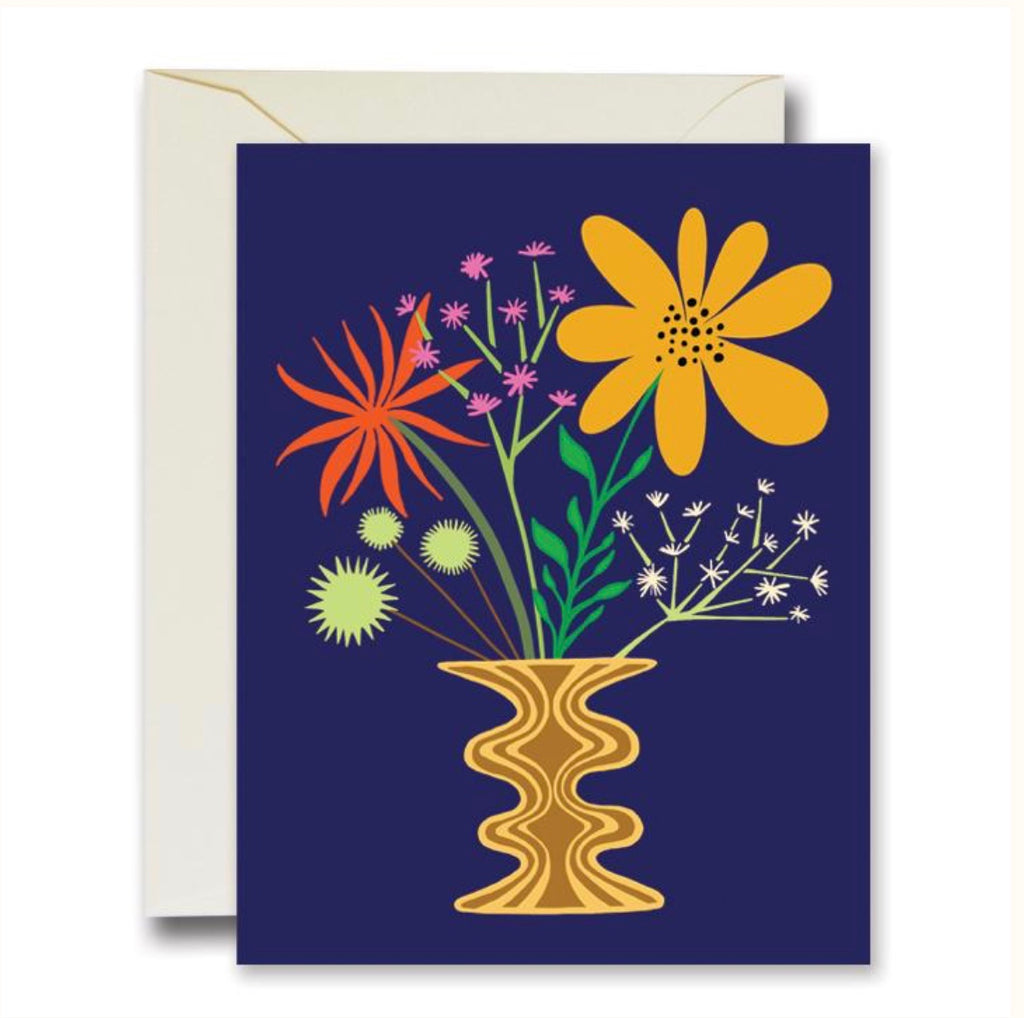 Rainbow Vision Friendly Flowers Card
