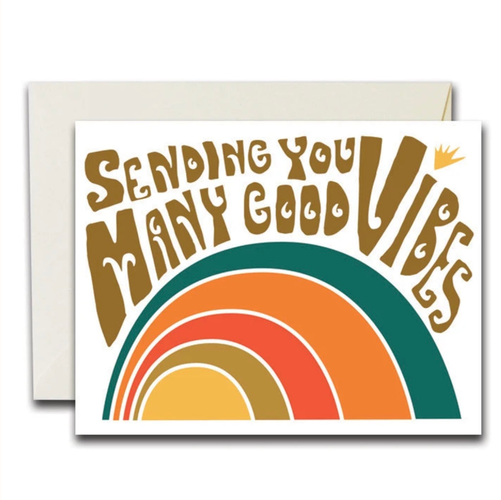 Rainbow Vision Good Vibes Card