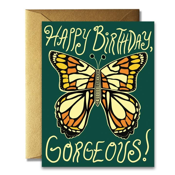 Rainbow Vision Happy Birthday Gorgeous Card