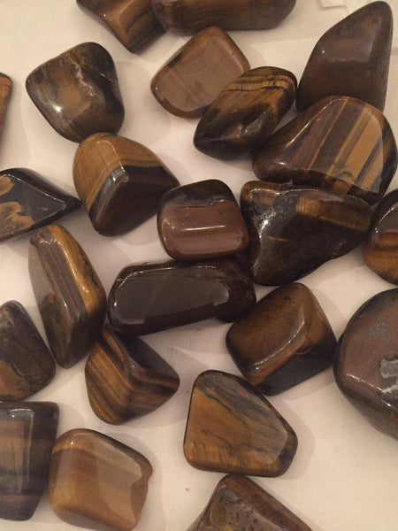 Tumbled Brazilian Tigers Eye $3