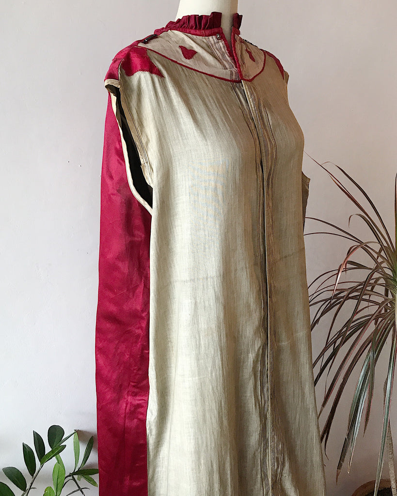 Red Silk Ceremonial Coat