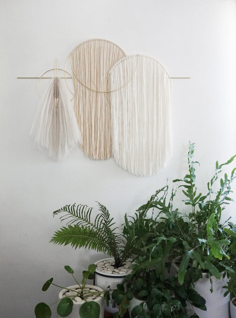 Attalie Dexter Waveforms Wall Hanging