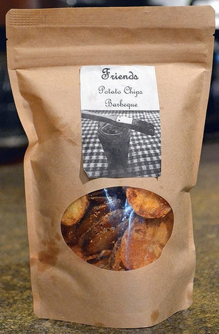 Detroit Snacks - Farm To Table Potato Chips | Detroit Friends | 1.7oz Bags