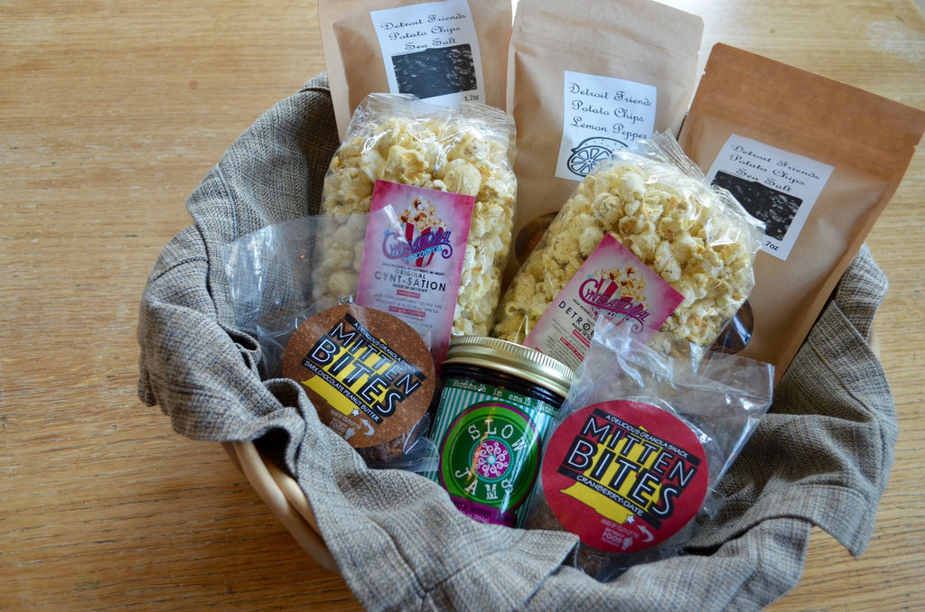 Made In Detroit Snacks - Detroit Snack Basket | Office Delivery
