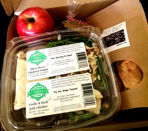 Small Batch Box Plus - Small Batch Plus That Box | Half Salad + Half Wrap | Two Sides