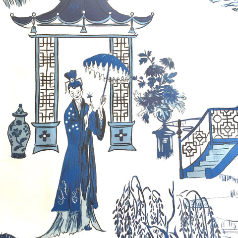 Cordelia Park Toile - in Prussian Blue