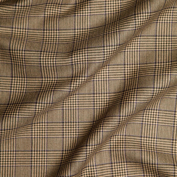 Loch Glen Plaid - shown in Bark - SALE - 1 yard