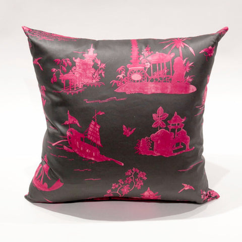 Coromandel Toile Pillow