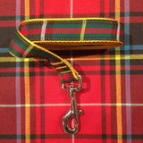 Tartan Dog Leash