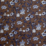 Harrison Floral - in Tudor Brown