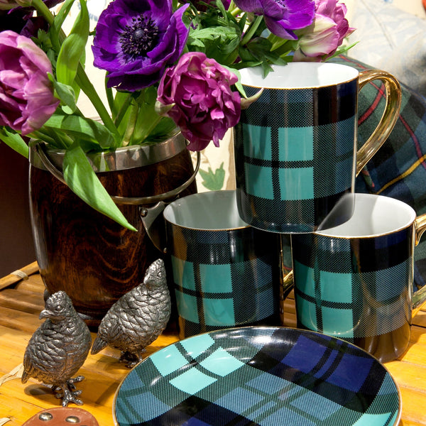 Adams Tartan Coffee Mug