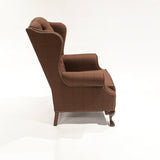 The Albert Reading Chair - shown in Scudder Tattersall