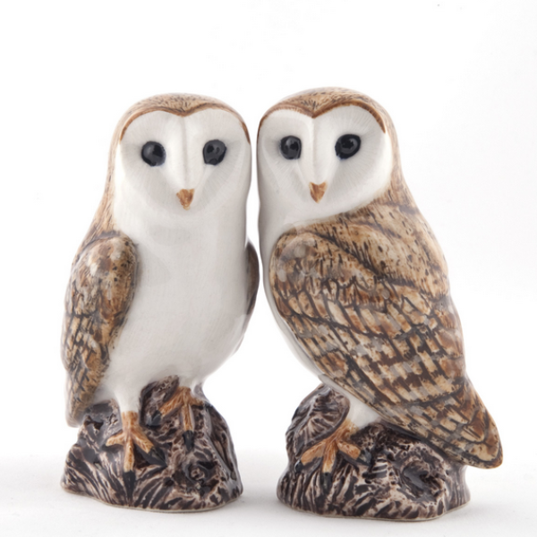 Barn Owl Salt and Pepper Set