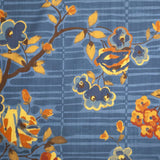Camille Floral - in Prestonfield Blue