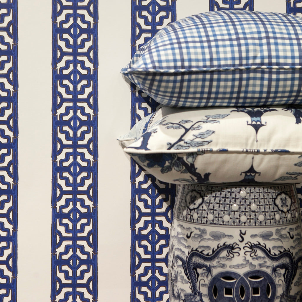 Chinoiserie Stripe - Prestonfield Blue