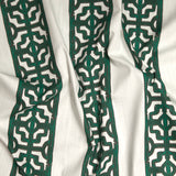 Chinoiserie Stripe - in Emerald