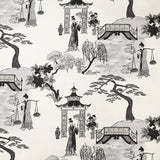 Cordelia Park Toile - in Charcoal