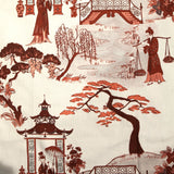 Cordelia Park Toile - in Cranberry