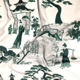Cordelia Park Toile - in Emerald
