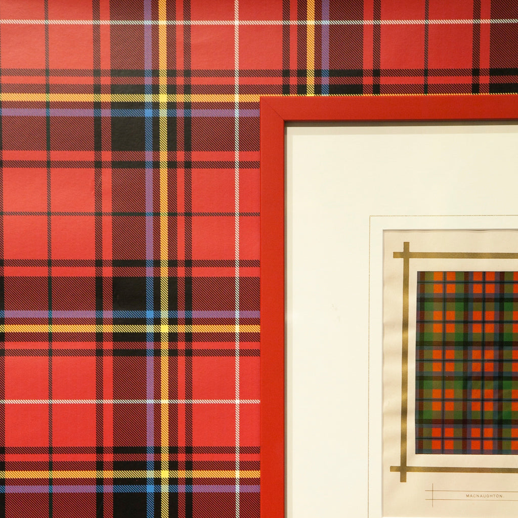 Drew Tartan - on English Paper