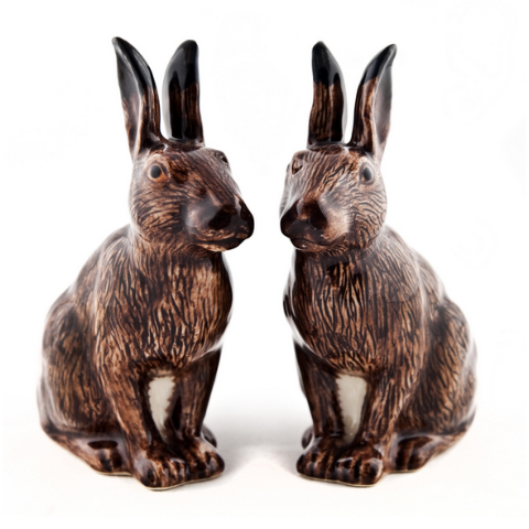 Hare Salt and Pepper Set