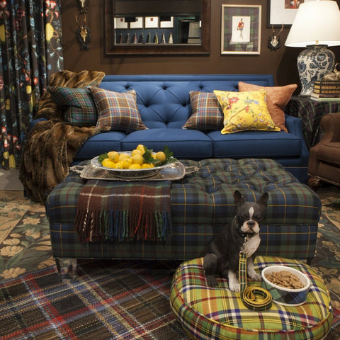 The Hyde Park Sofa - shown Prestonfield Twill Wool - FLOOR SAMPLE