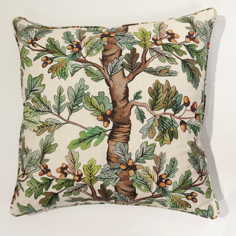 Jacob Botanical Stripe Pillow
