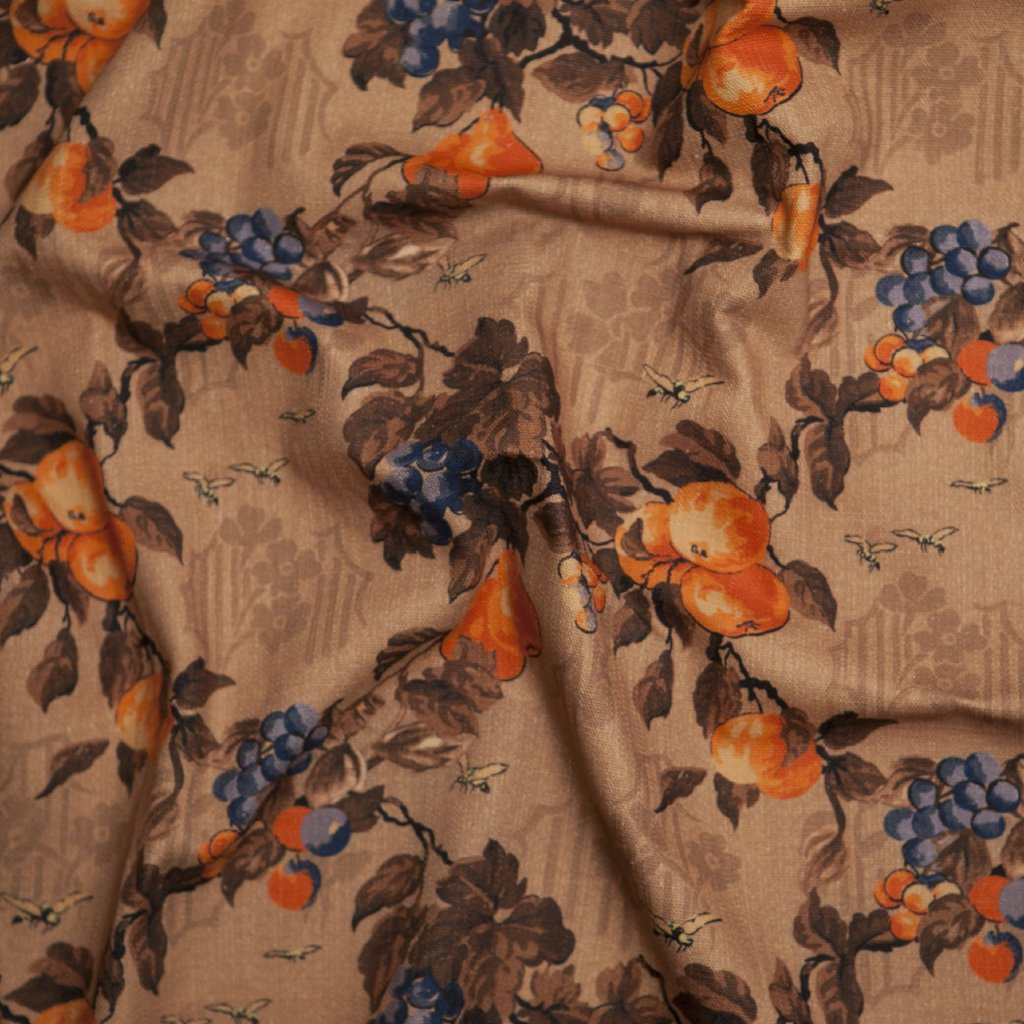Margot Trellis Floral - in Mandarin