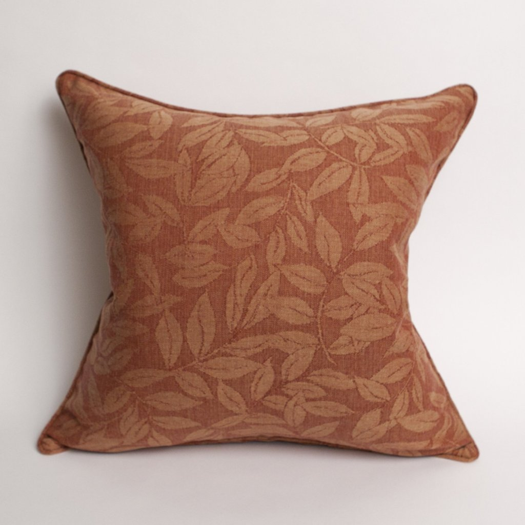 Mary Ann Damask Pillow in Clay