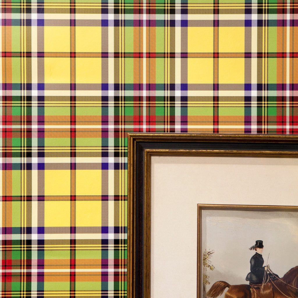 Meacham Tartan - on English Paper