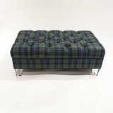 Pullman Ottoman shown in Chinoiserie Stripe in Prestonfield - FLOOR SAMPLE
