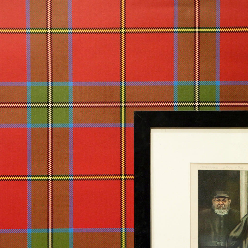 Ryder Tartan - on English Paper