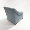 The St. James Armchair - shown in Heather Wool Twill/Sky - FLOOR SAMPLE