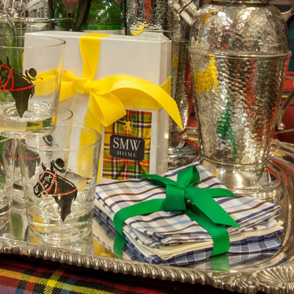 SMW Home's Set of Six Cocktail Napkins - SAMPLE SALE