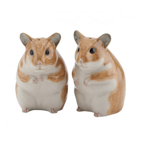 Hamster Salt and Pepper Set