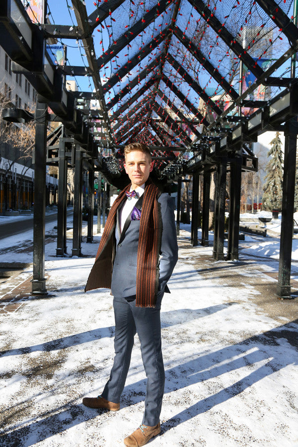 Bow tie and scarf for men, Beyond Scarf Calgary