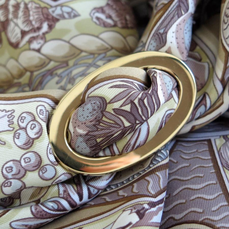 Classic Scarf Ring - Gold