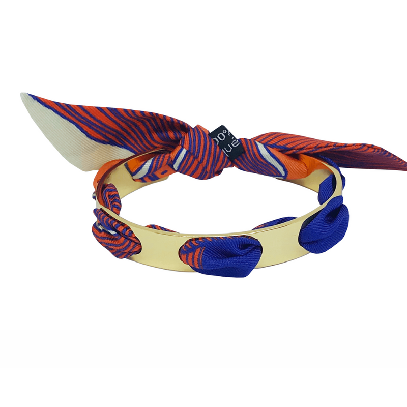 Proust Silk Bangle - Gold