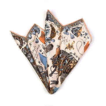 The Lion and Tiger's Tea Party Neckerchief/Pocket Square