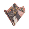 The Panther and Flamingo Buff Neckerchief/Pocket Square