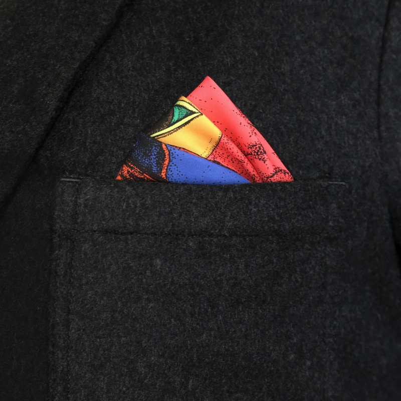 Eden Garden Pocket Square