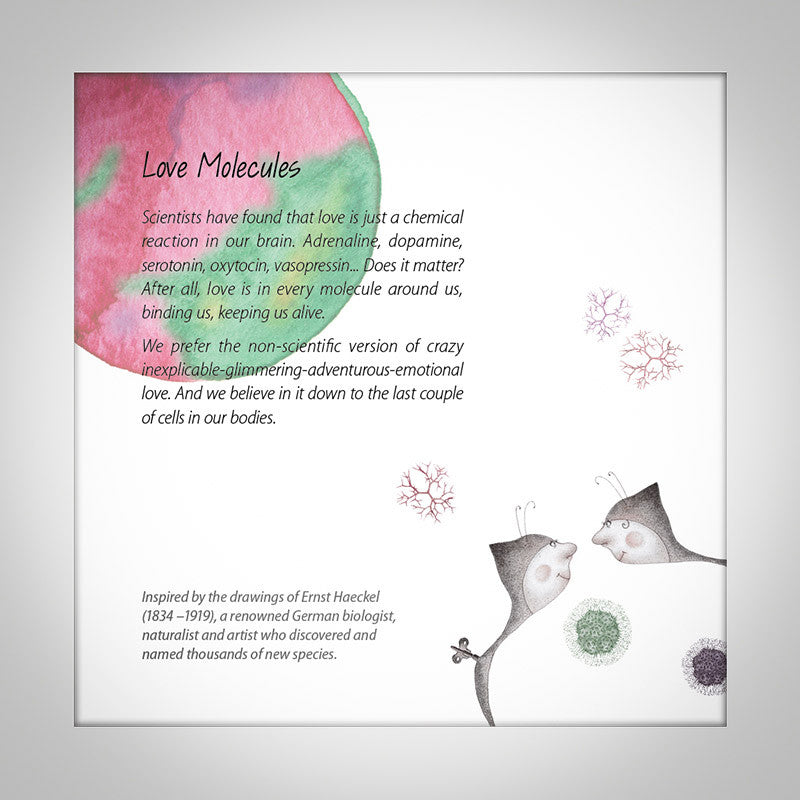 Love Molecules - Green