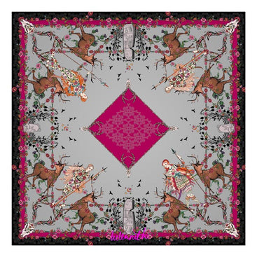 Daughter of the Picts Silk Square Scarf